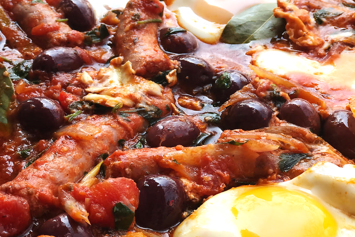 Italian Baked Eggs (Our Favourite Kruger Breakfast)